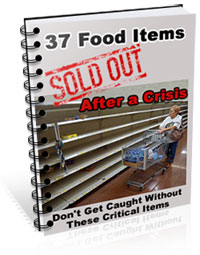 37 Food Items Sold Out After a Crisis